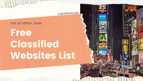 Ultimate List of 1000+ Free Classified Ad Posting Sites for 2020
