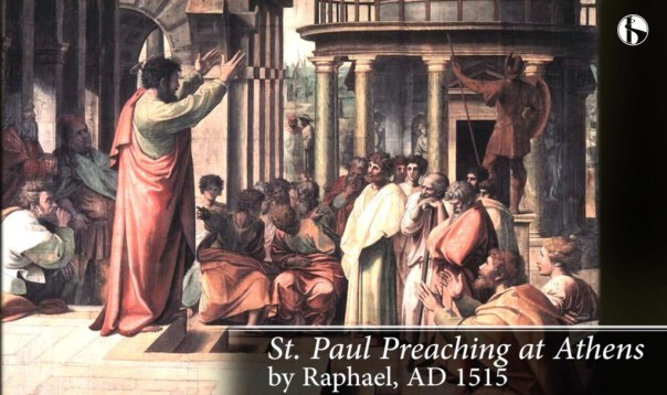 Paul Preaching to the Ephesians
