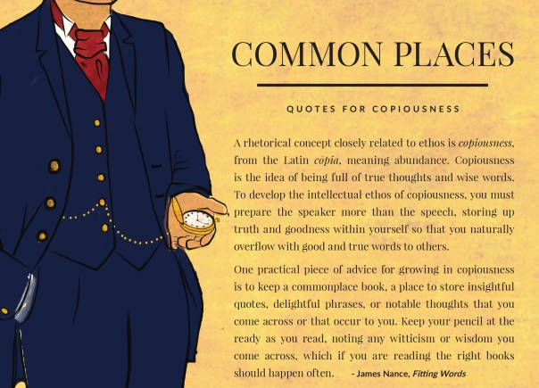 commonplaces for FB