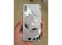 Broken iPhone X