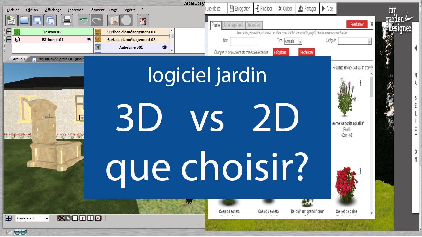 logiciel 3d logiciels jardins le guide. Black Bedroom Furniture Sets. Home Design Ideas