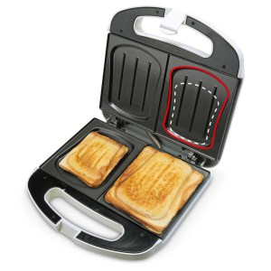 Bourgini sandwich maker 12.5000.01 – 2 persoons