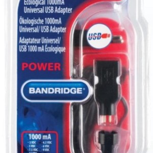 Bandridge BPC4106EC Universele stroombesparende adapter