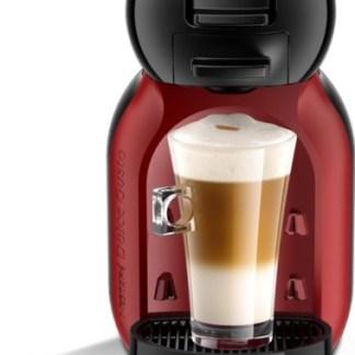 Krups Dolce Gusto MiniMe KP120H – Koffiecupmachine – Black-Cherry ( zonder koffie)