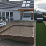 AJ Joinery completed decking