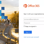 How TO Sign In And Out OF Office 365 – Office 365 login