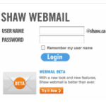 SHAW WEBMAIL LOGIN – ACCESS YOUR EMAIL ACCOUNT