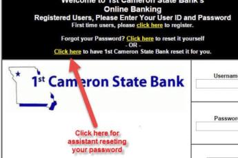 Cameron State Bank