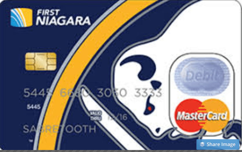 FIRST NIAGARA CREDIT CARD