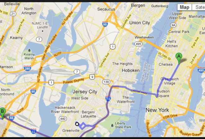 Yahoo Maps Driving Directions