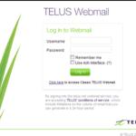 Telus Webmail Login