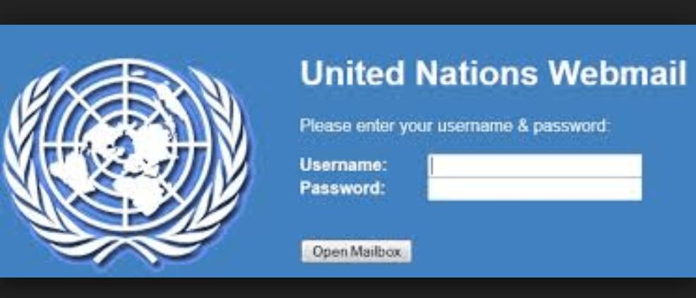 UN Webmail Login