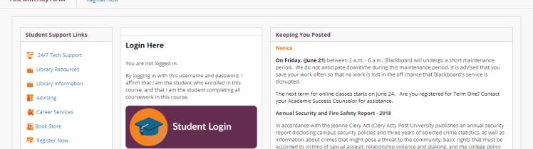 Post-University-Portal-Blackboard-Learn