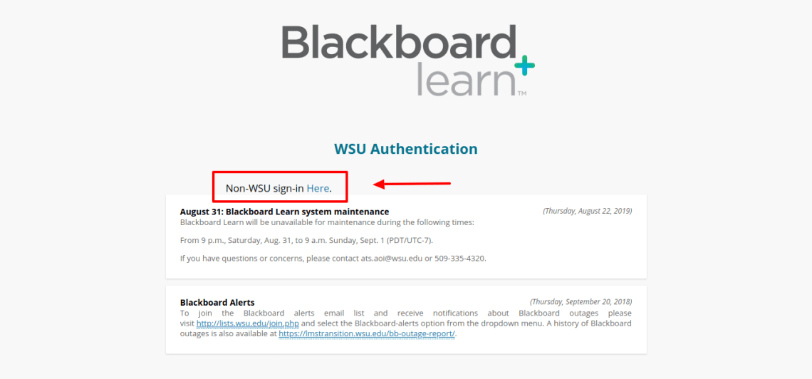 Blackboard Learn Login