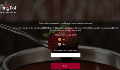 Melting Pot Guest Satisfaction Survey