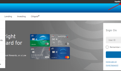 Applying for Citibank Credit Cards