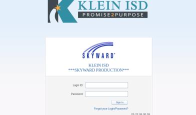 Skyward Klein Login