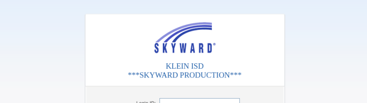 Skyward Klein Login