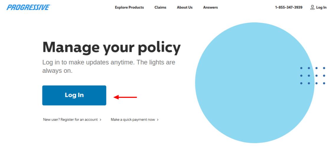 Policy Progressive login