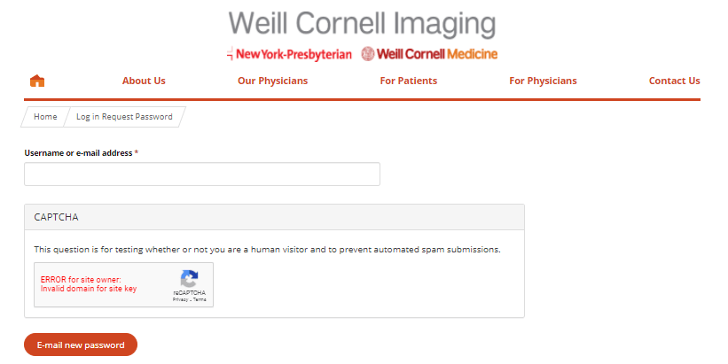 Weill Cornell Login