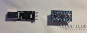 Arduino + CP2102