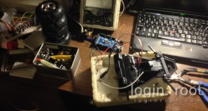 RC car disassembly