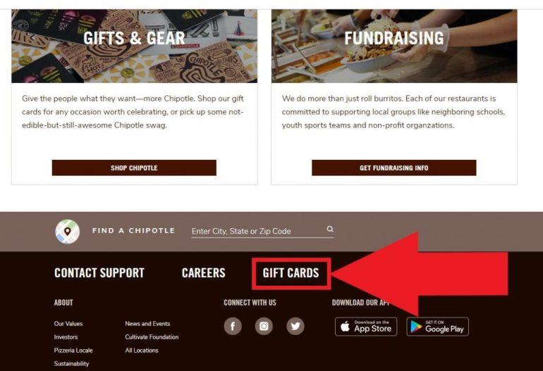 Chipotle Gift Card Balance