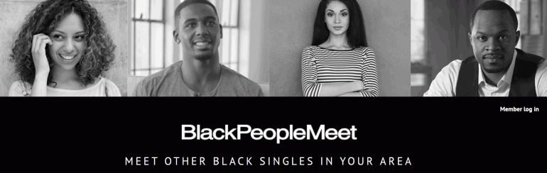 BlackPeopleMeet Logo | logintips.net
