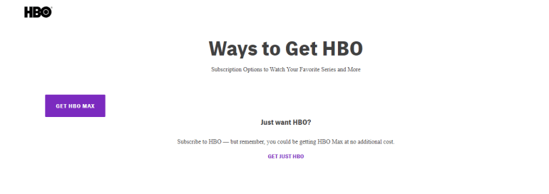 Subscribe to HBO Now