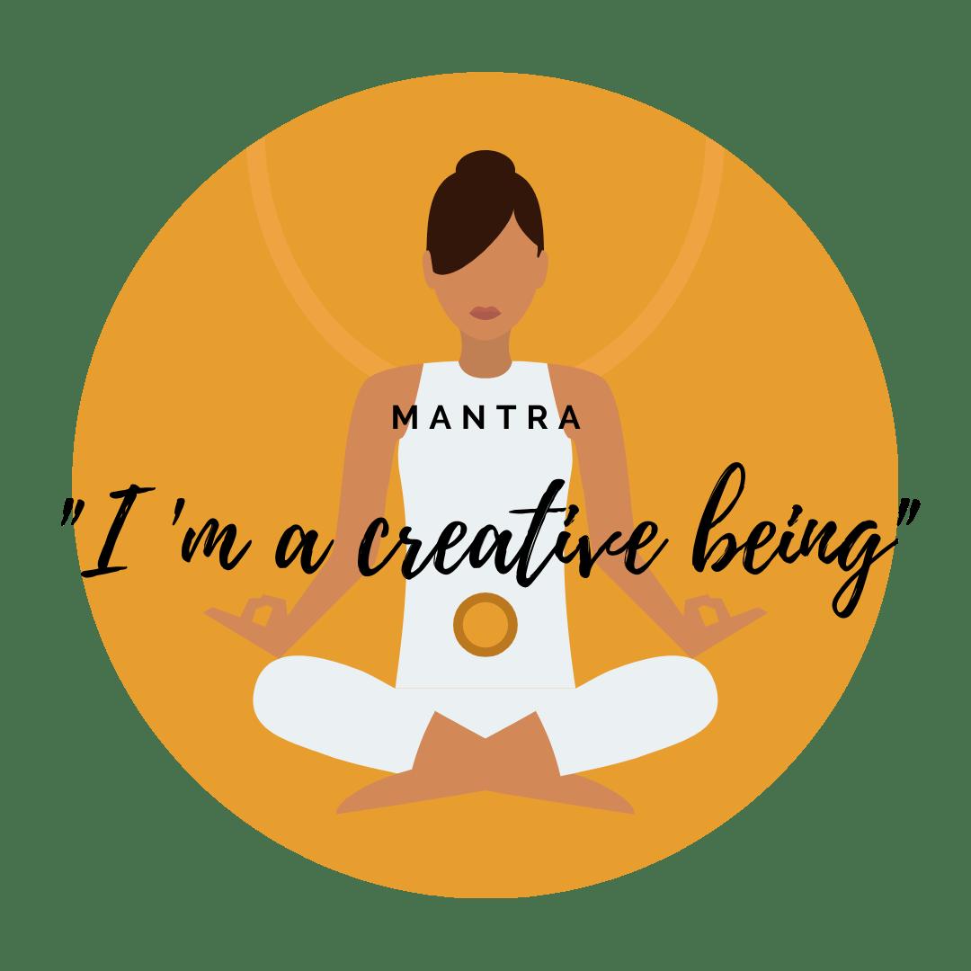 2nd chakra, sacral chakra, mantra for creativity, creativity, Svadhishthana
