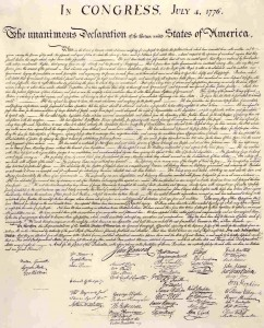 Declaration - Click to enlarge