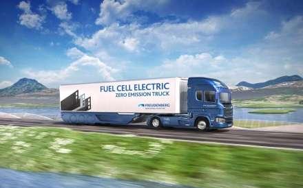 Freudenberg und Quantron kooperieren zu Brennstoffzelle