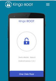 root you android main menu of kingo root