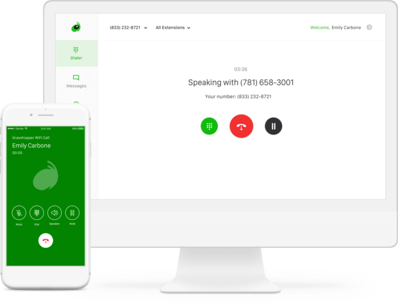 Grasshopper Review: business-texting wifi-calling