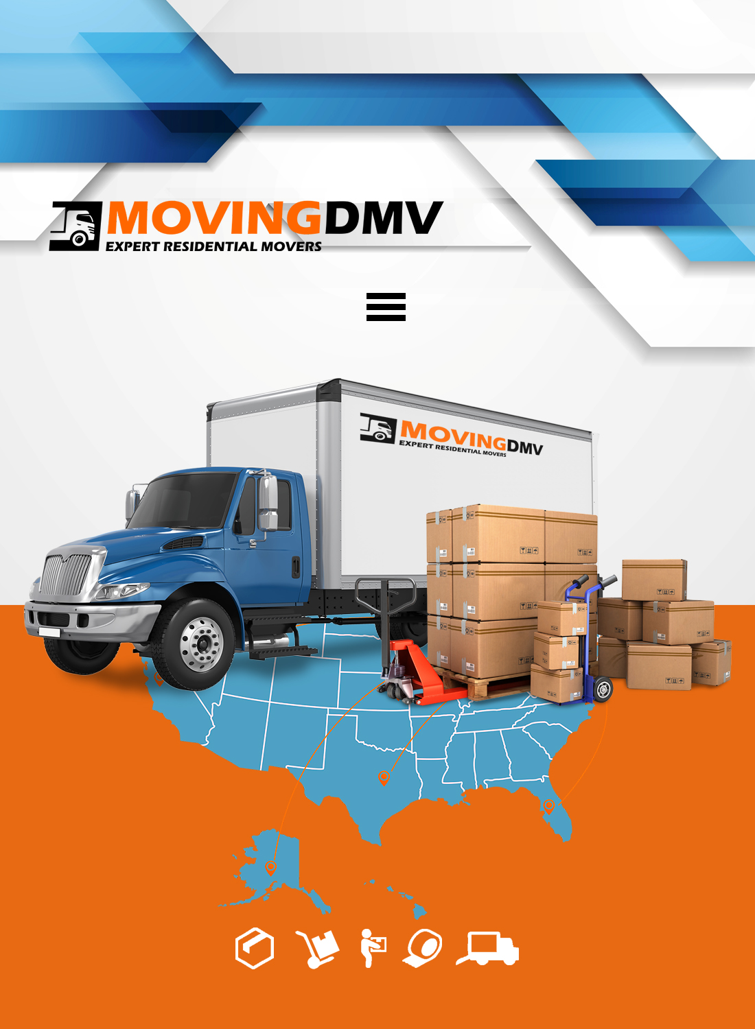 Moving dmv truck screenshot slider