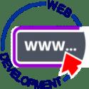 Web design circular banner
