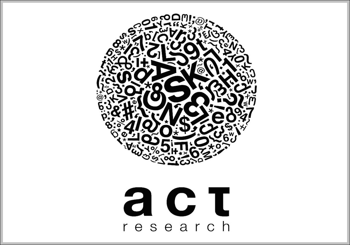 Act Research Trademark Logo Sign