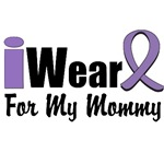 I Wear Violet Ribbon For My Mommy