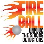 Fire Ball - Friends t shirt - Joey Chandler