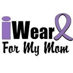 I Wear Violet Ribbon For My Mom