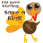 Save a Turkey T-shirts and Merchandise