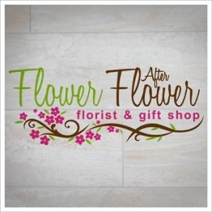 Final Logo design for Flower After Flower florist.