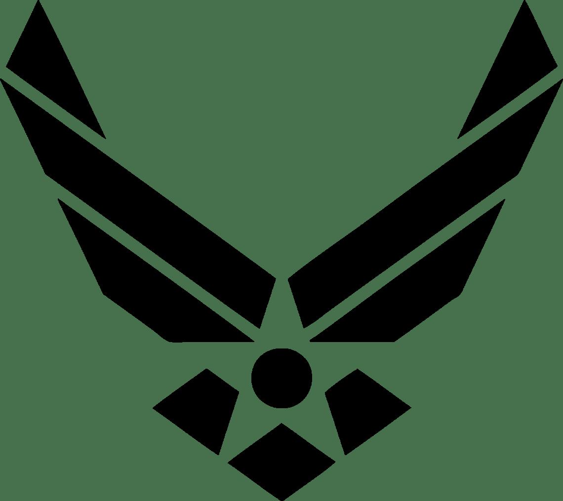Download Top Three Us Air Force Logo - LogoDix