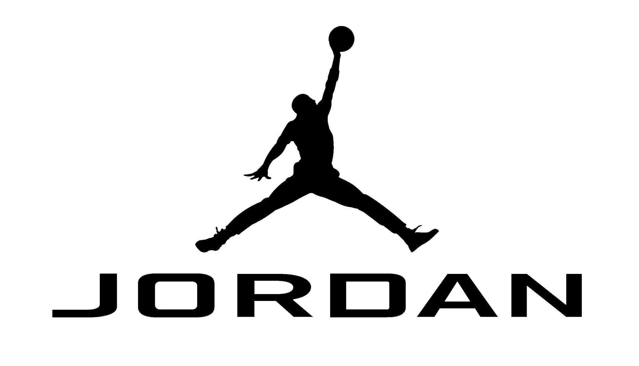 White Jordan Logo