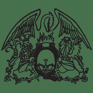 Queen logo vector in (EPS, AI, CDR) free download