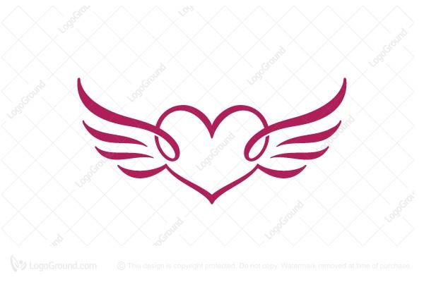 Heart Wings Logo