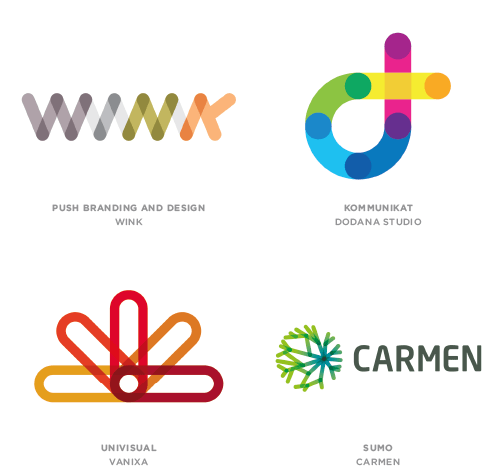 Links trend logo examples