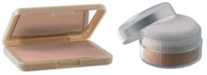 makeup σε σκόνη - πούδρα