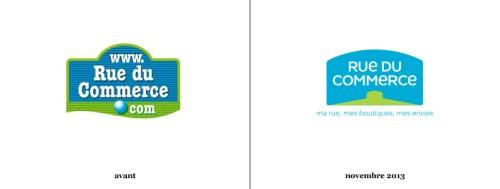 Rueducommerce d voile sa nouvelle identit logonews - Rue du commerce literie ...