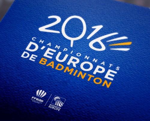 Application Championnats d'Europe de Badminton 2016